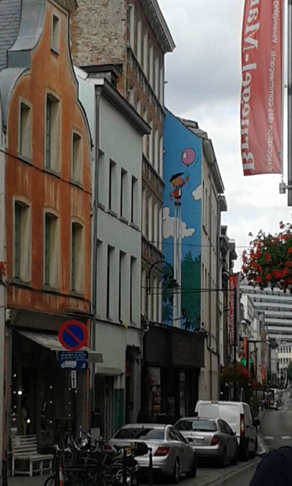 Brussels - boy&balloon