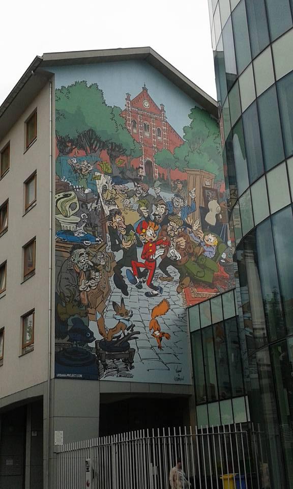 Brussels - fox street art