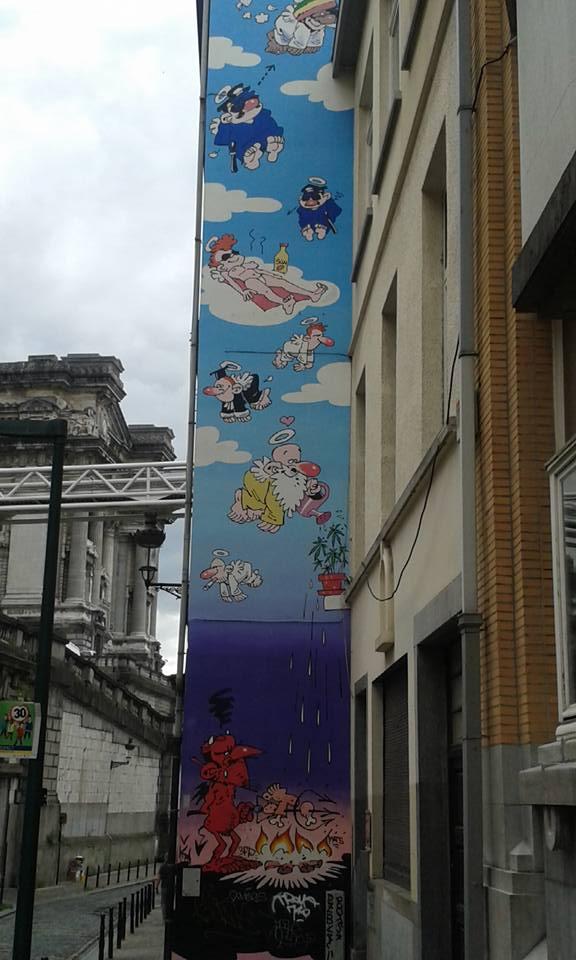 brussels - heaven street art