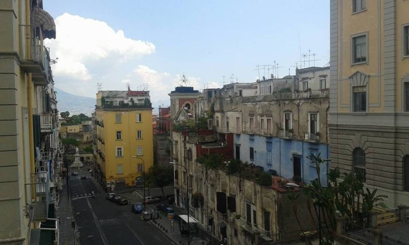 Naples Hostel View
