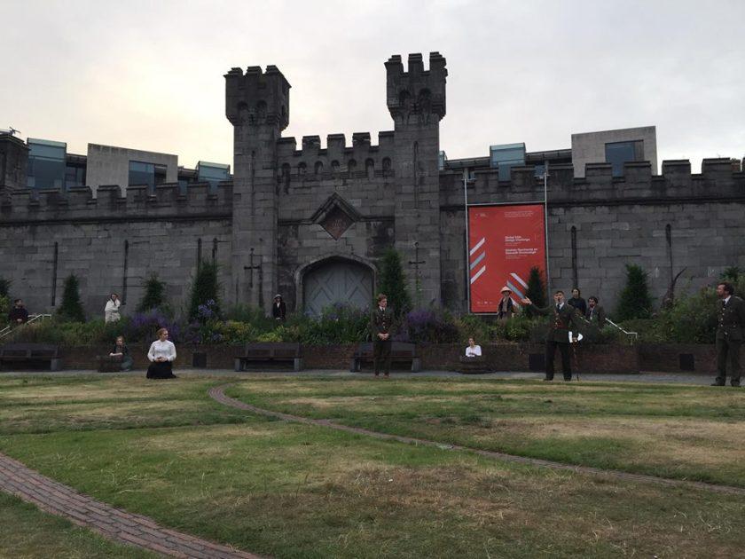 Dublin Castle drama
