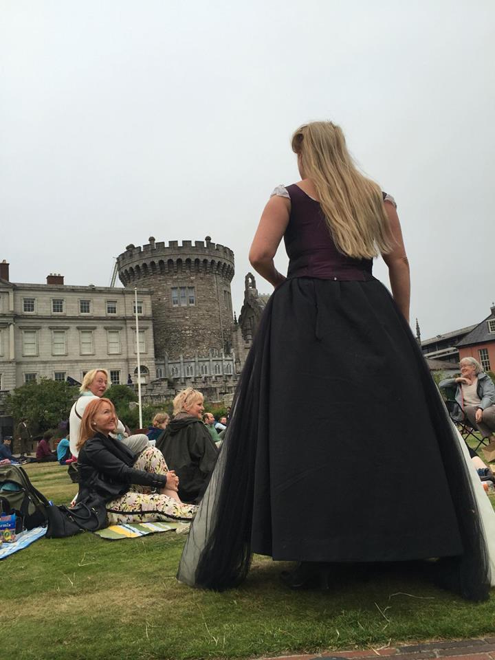 Dublin Castle - the harlot